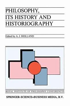 Philosophy  its History and Historiography PDF