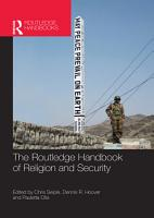 The Routledge Handbook of Religion and Security PDF
