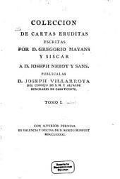 Coleccion de cartas eruditas: Volumen 1
