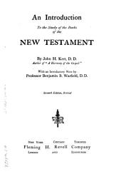 An Introduction to the Study of the Books of the New Testament: Volume 65; Volume 132
