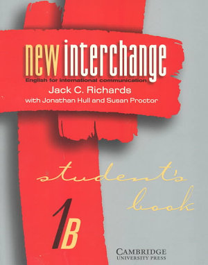 New Interchange Student s Book 1B PDF