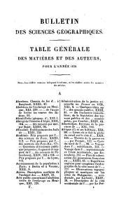 Bulletin general et universel des annonces et des nouvelles scientifiques, publie sous la direction du baron de Ferussac: Volume6;Volume24