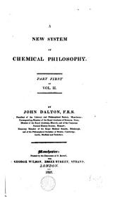 A New System of Chemical Philosophy: Volume 2