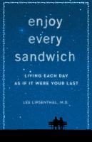 Enjoy Every Sandwich PDF