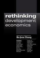 Rethinking Development Economics PDF