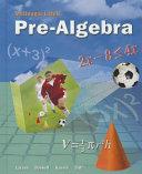 Pre Algebra Book
