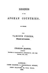 Legends of the Afghan countries, etc
