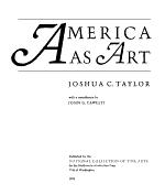 America as Art PDF