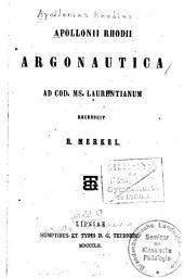 Apollonii Rhodii Argonautica: ad cod. ms. Laurentianum