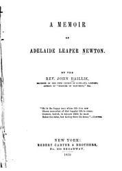 A Memoir of Adelaide Leaper Newton PDF