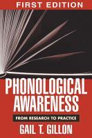 Phonological Awareness PDF