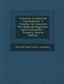 Concrete in Railroad Construction PDF