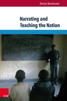 Narrating and Teaching the Nation PDF