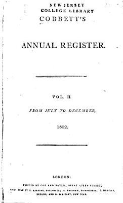 Cobbett's Political Register