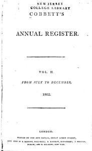 Cobbett s Political Register Book