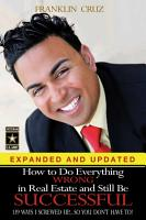 How to Do Everything Wrong in Real Estate and Still Be Successful PDF