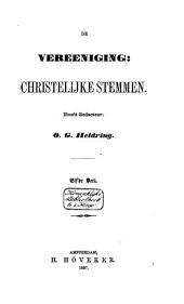 De Vereeniging Christelijke Stemmen: Volume 11