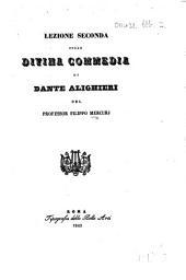 Lezione seconda sulla Divina Commedia di Dante Alighieri. [On Paradiso XXXII, 61-72.] (Articolo estratto dal Giornale arcadico.).