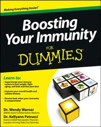 Boosting Your Immunity For Dummies Book PDF