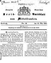 Verhandlungen des Landrathes von Mittelfranken: 1855/56