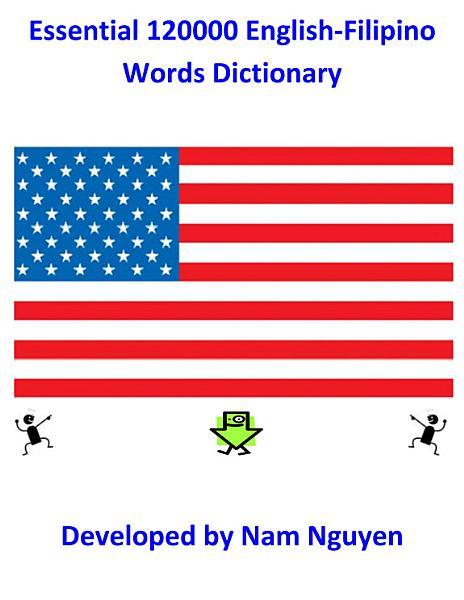 Essential 120000 English Filipino Words Dictionary
