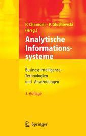 Analytische Informationssysteme: Business Intelligence-Technologien und -Anwendungen, Ausgabe 3