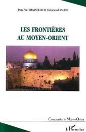 Les frontières au Moyen-Orient