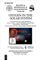 Oxygen in the Solar System PDF