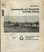 Soil Survey of Leavenworth and Wyandotte Counties  Kansas PDF
