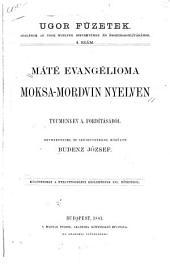 Máté Evangélioma moksa-mordvin nyelven
