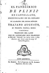 El panegírico de Plinio en castellano