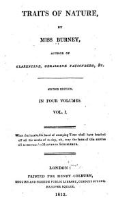 Traits of nature: Volume 1