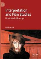 Interpretation and Film Studies PDF
