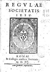 Regulae Societatis Iesu