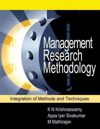 Management Research Methodology PDF