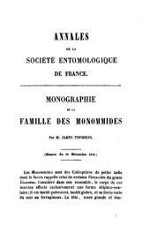 Annales de la Société entomologique de France