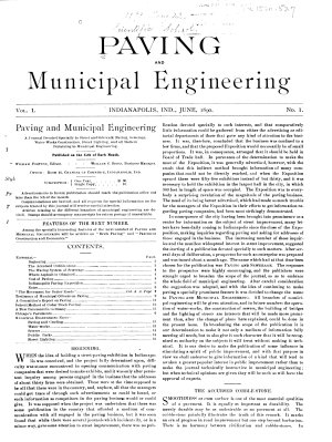 Paving and Municipal Engineering PDF