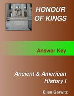 Honour of Kings Ancient and American History 1 Test Packet & Answer Key