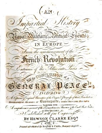 An Impartial History of the Naval  Military and Political Events in Europe  from the commencement of the French Revolution to the entrance of the Allies into Paris and the conclusion of a general peace     Embellished with fine engravings PDF
