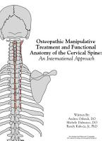 OMT and Functional Anatomy of the Cervical Spine PDF