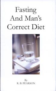 Fasting and Man s Correct Diet Book