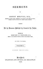 Sermons: Volume 1