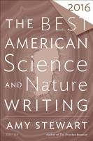 The Best American Science and Nature Writing 2016 PDF