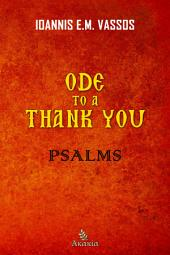 Ode to a Thank You: Psalms