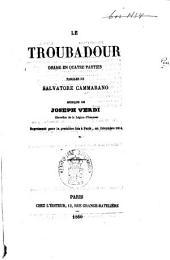 Il trovatore: dramma in quattro parti