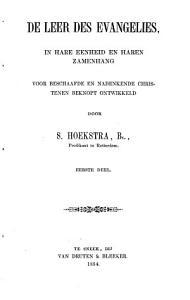 De leer des Evangelies  in hare eenheid en haren zamenhang PDF