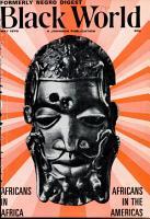 Black World Negro Digest PDF