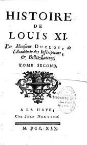 Histoire de Louis XI: Volume2