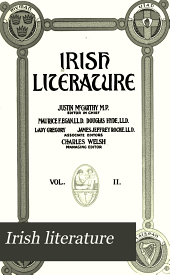 Irish literature: Volume 2