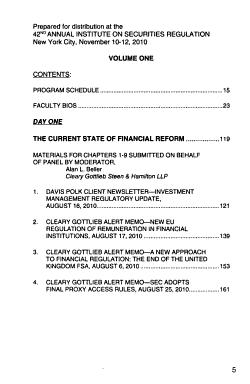 Annual Institute on Securities Regulation PDF